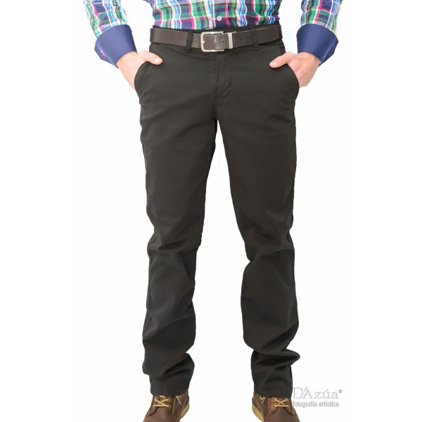 pantalones trasero negro