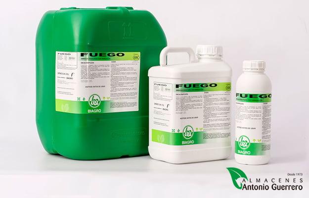 Fuego. Producto microbiológico natural - Almacenes Antonio Guerrero