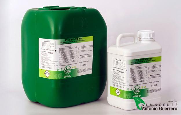 Bifos.Nitrógeno 3% + Fósforo 6%. Insecticida-Almacenes Antonio Guerrero