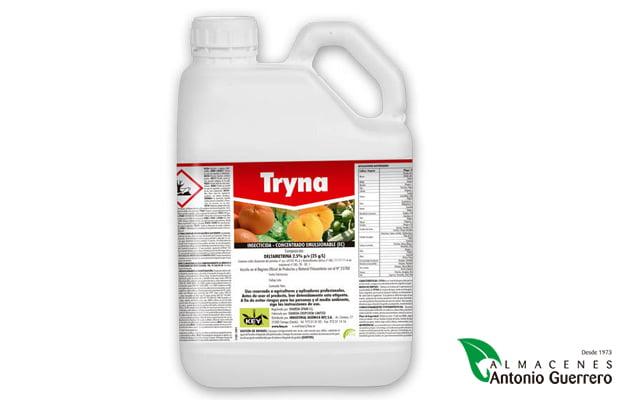 Tryna 1Lt. Piretroide sintético - Almacenes Antonio Guerrero