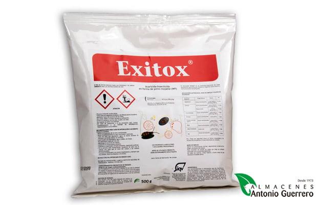Exitox 500 Gr. - Almacenes Antonio Guerrero - huevos y larvas de araña roja