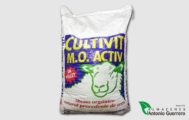 Cultivit Estiércol de Oveja 40Kg. - Almacenes Antonio Guerrero