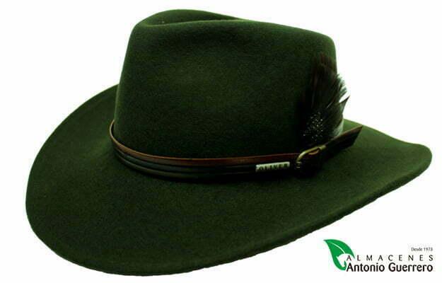 de49504cec58c Sombrero Oliver Hats Impermeable Crushable Correa Tricolor Pluma
