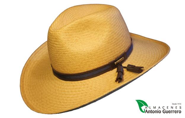 57b0e0f08a978 Sombrero Gambler Panama Rawson Cuenca con Borlas