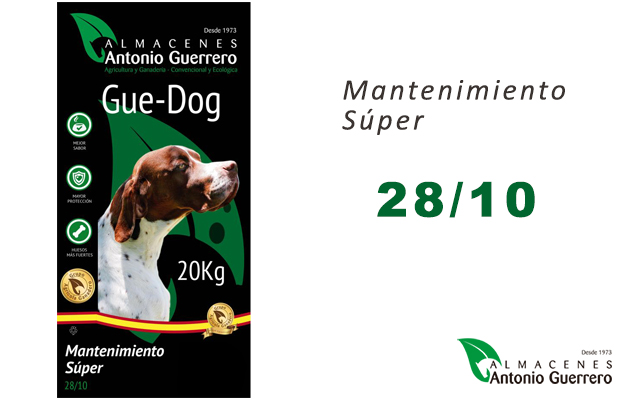 GUE-DOG Mantenimiento Súper