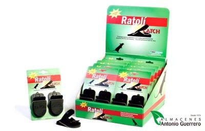 Ratoli Catch Ratones dos Unidades - Almacenes Antonio Guerrero