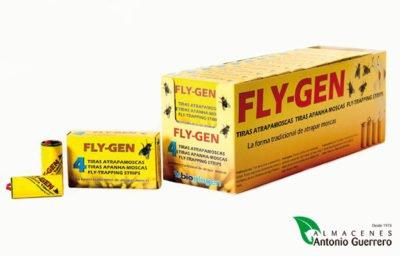 Fly-Gen Tiras Atrapa Moscas - Almacenes Antonio Guerrero