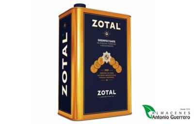 ZOTAL® G es un desinfectante, fungicida y desodorizante - Almacenes Antonio Guerrero