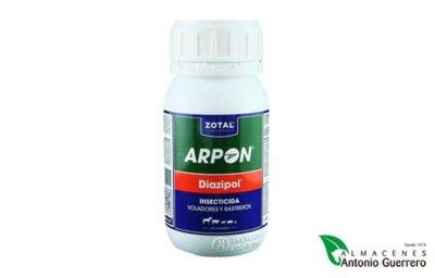 Zotal Arpon Diazipol - Almacenes Antonio Guerrero - insecticida emulsionable - insectos voladores - insectos reptantes