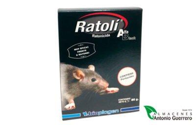 Ratolí Alfa eficaz frente a roedores pequeños - Almacenes Antonio Guerrero