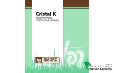 Cristal-K Fertilizante órgano-mineral - Almacenes Antonio Guerrero