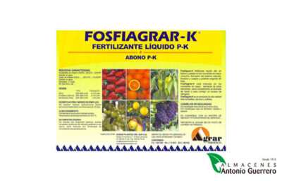 Fosfiagrar-kfertilizante - Almacenes Antonio Guerrero