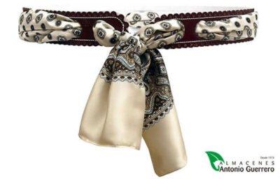 Cinturón Señora Piel pañuelo - Almacenes Antonio Guerrero