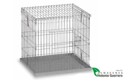 Jaula exposición palomas mediana 60x60 - Almacenes Antonio Guerrero