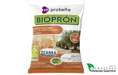 Bioprón, Fertilización natural y equilibrada - Almacenes Antonio Guerrero